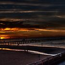 Frankston Pier Sunset (HDR) by Keith Irving