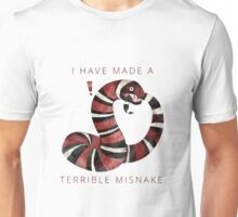 Terrible Misnake Unisex T-Shirt