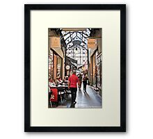 Block Place, Melbourne Framed Print