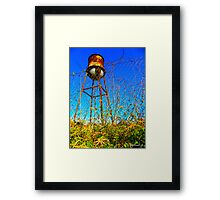 Water Tower Study Two Framed Print