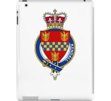 Coat of arms (family crest) for last-name or surname Kendall (England) . Heraldry banner for your name. iPad Case/Skin