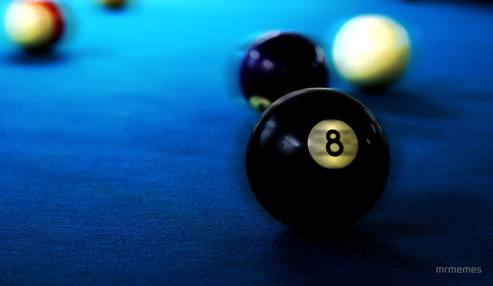 Eight ball by mrmemes