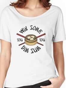 You Win Some You Dim Sum // Cute Funny Food Pattern  Women's Relaxed Fit T-Shirt