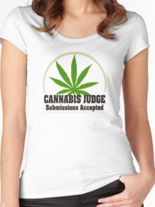 Marijuana Women's Fitted Scoop T-Shirt
