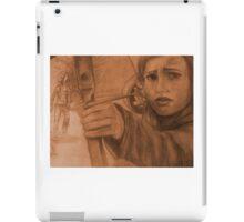 Ellie in Winter - Sepia iPad Case/Skin