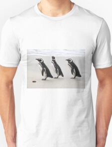 Magellanic Penguins on the Beach T-Shirt