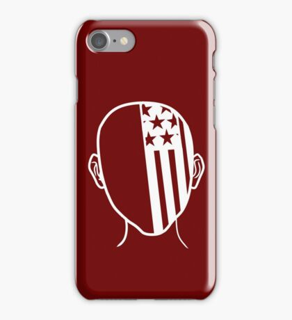 American Beauty (White) iPhone Case/Skin