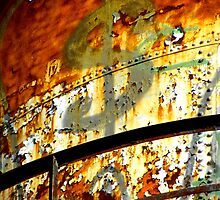 Water Tower Graffiti 1 by designerbecky