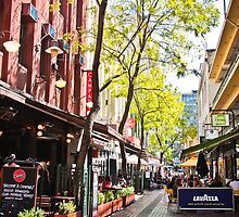 Hardware Lane, Melbourne by Nicole a Alley