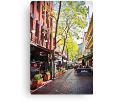 Hardware Lane, Melbourne Canvas Print