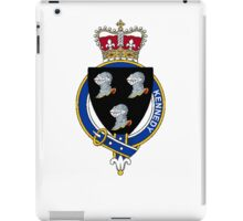 Coat of arms (family crest) for last-name or surname Kennedy (Ireland) . Heraldry banner for your name. iPad Case/Skin