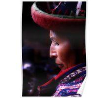 Mujer Peruana Poster