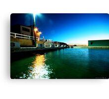 Newcastle Baths at Sunrise Canvas Print