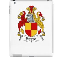 Coat of arms (family crest) for last-name or surname Kennet . Heraldry banner for your name. iPad Case/Skin