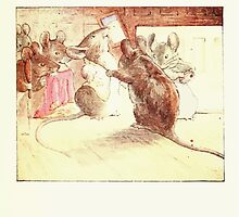 The Tailor of Gloucester Beatrix Potter 1903 0015 Mice Dressing by wetdryvac