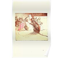 The Tailor of Gloucester Beatrix Potter 1903 0015 Mice Dressing Poster