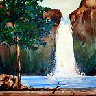 Wilderness Falls by Jim Phillips