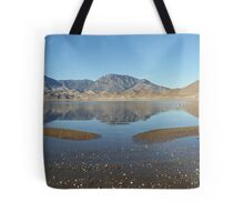 Lake Isabella Reflections on a Winter's Afternoon After Several Days of Rain Tote Bag