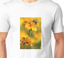 Bee Flower Unisex T-Shirt