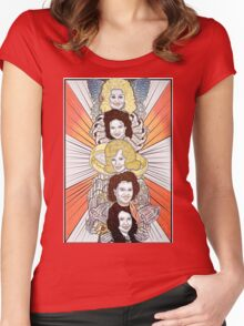 Totems V.1: Women of Country Music Women's Fitted Scoop T-Shirt