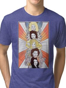 Totems V.1: Women of Country Music Tri-blend T-Shirt