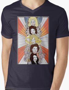 Totems V.1: Women of Country Music Mens V-Neck T-Shirt