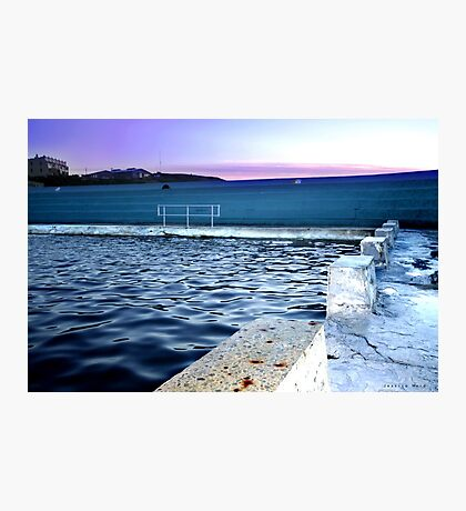 Sunrise at Newcastle Baths Photographic Print