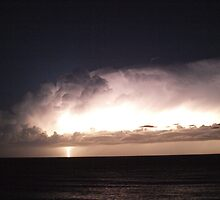 Lightning Storm3 - Port Macquarie, NSW Australia by robey