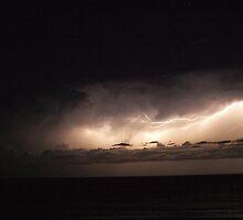 Lightning Storm4 - Port Macquarie, NSW Australia by robey