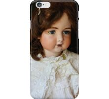 Vintage French doll iPhone Case/Skin