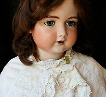 Vintage French doll by Maggie Hegarty
