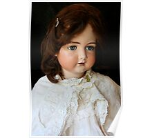 Vintage French doll Poster