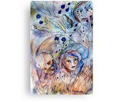 Blue Tears... Canvas Print