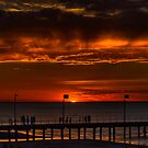 The Sun Sets (HDR) by Keith Irving