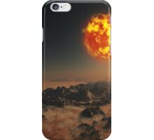 Dying Sun iPhone Case/Skin