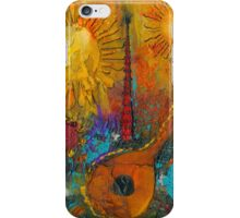 The Banjo and The Tambourine iPhone Case/Skin