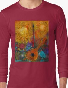 The Banjo and The Tambourine Long Sleeve T-Shirt