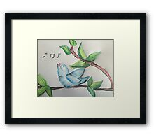 Sing Your Own Song!  Framed Print