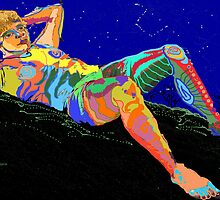 Stargazing on Devil's Mountain by Sally Sargent