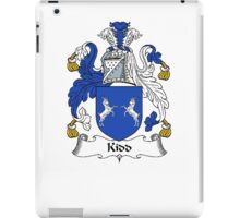 Coat of arms (family crest) for last-name or surname Kidd . Heraldry banner for your name. iPad Case/Skin