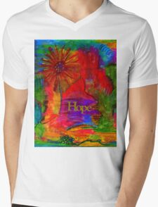 Brighter Days Ahead Mens V-Neck T-Shirt