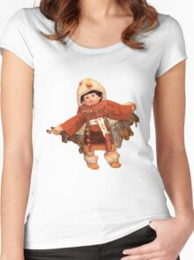 the little warrior Women's Fitted Scoop T-Shirt