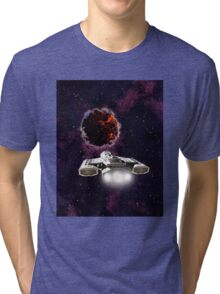 Outer Space Entity Tri-blend T-Shirt