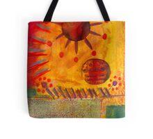 The Sun Shines on US the Same Tote Bag