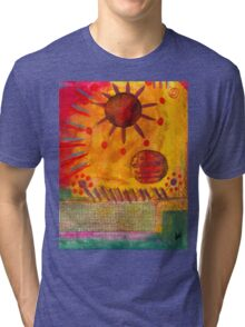 The Sun Shines on US the Same Tri-blend T-Shirt