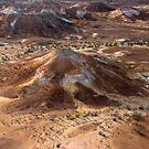 Painted Hills - Anna Creek Station - South Australia by Jeff Catford