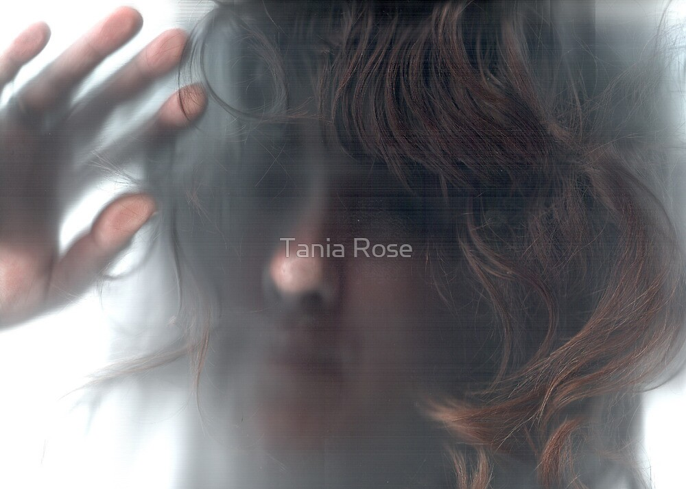 Self Portrait - Light Touched by Tania Rose