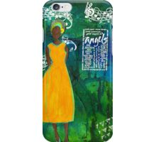 As Sweet As An Angel iPhone Case/Skin