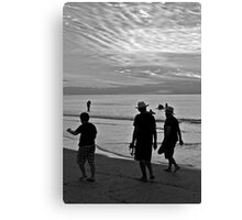 Hot summers night Canvas Print