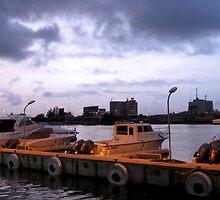 Boats on Victoria Island by Bobbie J. Bonebrake